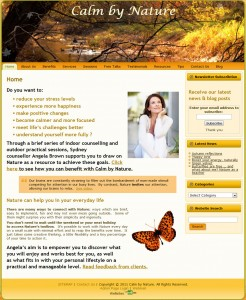 Counsellor Counselling Website Design