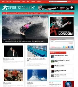 health fitness website design