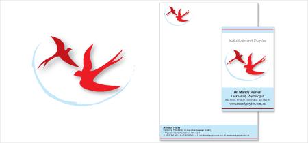Dr Amanda Peyton Logo & Stationery