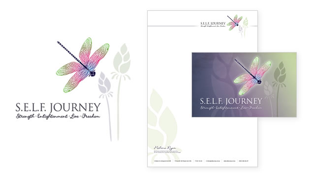Therapist Logo & Business Stationery