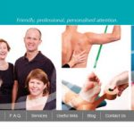 Physiotherapy physiotherapist website design