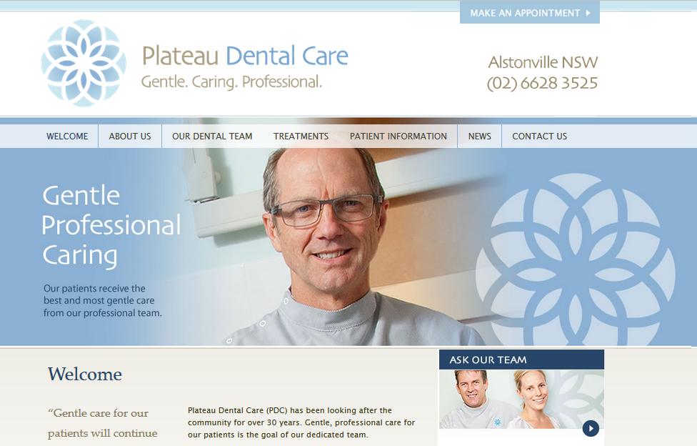plateaudentalcare-homepage