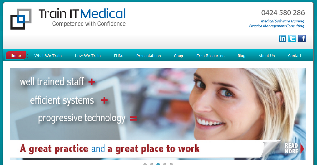 trainitmedical-homepage