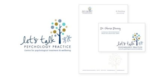 Let's Talk Psychology Logo & Stationery