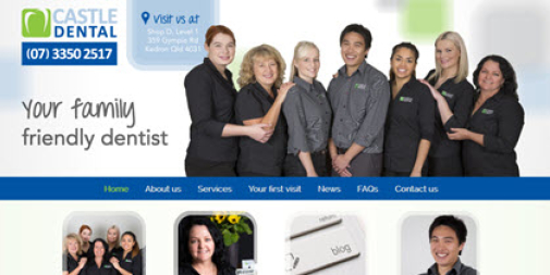 Dental Website – Castle Dental