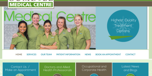 Medical Website: Gumdale Medical Centre