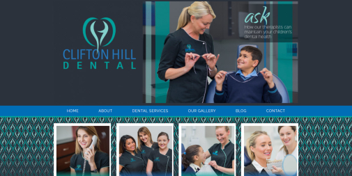 Dental Website – Clifton Hill Dental