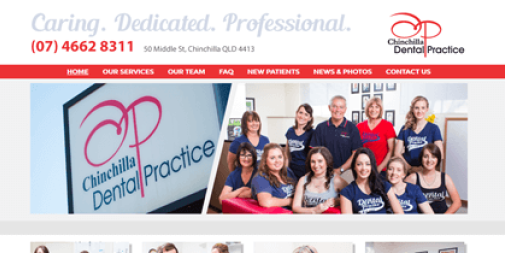 Dental Website – Chinchilla Dental Practice