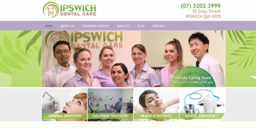 Dental Website – Ipswich Dental Care