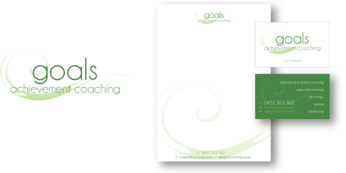 Goals Achievement Coaching Logo & Stationery