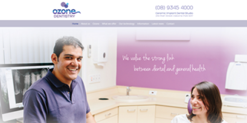 Dental Website – Ozone Dentistry