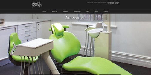 Dental Website – Dental On George