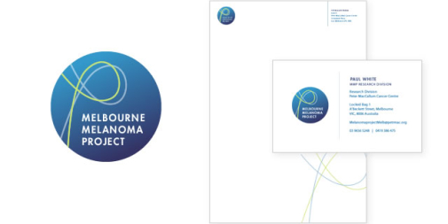 Melbourne Melanoma Project Logo & Stationery
