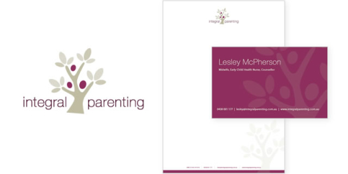 Integral Parenting Logo & Stationery