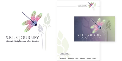 SELF Journey Logo & Stationery