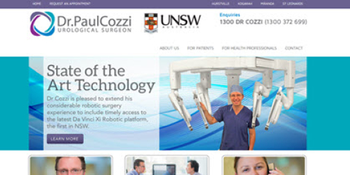 Medical Website: A/Prof Cozzi – Surgeon