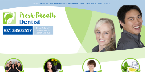 Dental Website – Fresh Breath Dentist